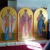 Первые иконы для иконостаса