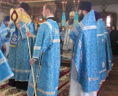 01 июля 2014 г. Празднования Боголюбивой иконы Божией Матери в Арзамасском Николаевском женском монастыре