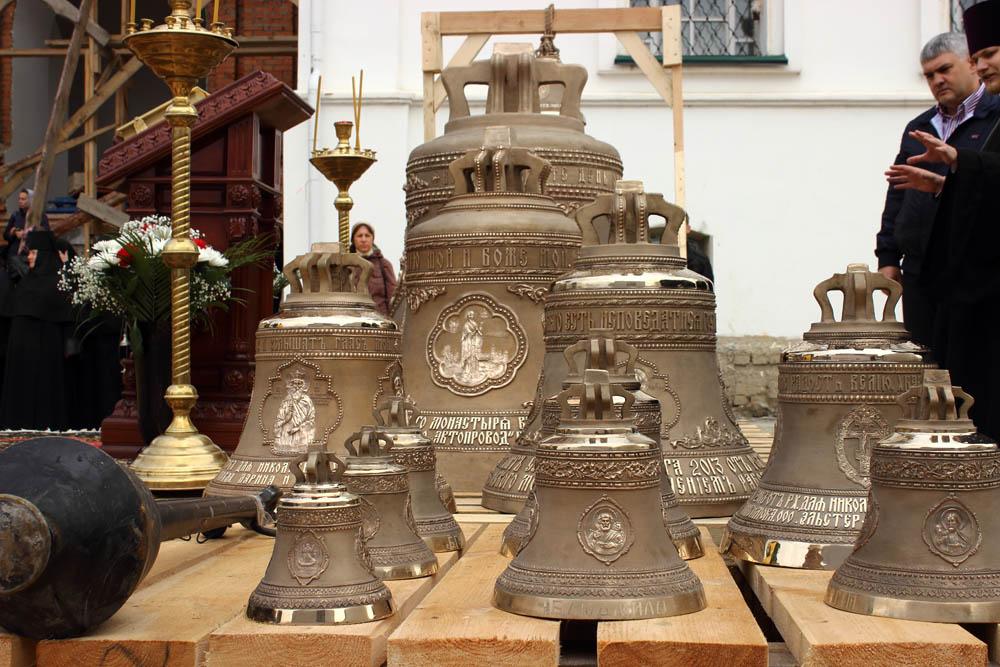 14 сентября 2013 г. Освящение колоколов Никольского храма