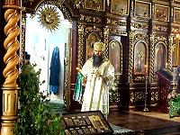 4 июня 2012 года - митрополит Георгий совершил Божественную литургию в Арзамасском Николаевском женском монастыре