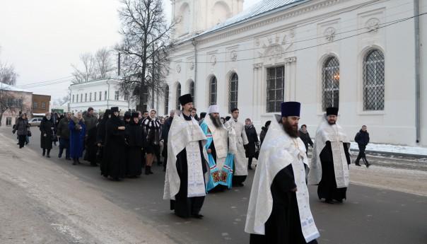 18 декабря 2015 - Великое освящение соборного храма во имя святителя и чудотворца Николая епископа Мир Ликийских