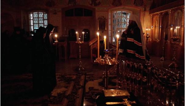 11 марта 2017 года в храме Свт.Николая Владыка Георгий совершил иноческий постриг.