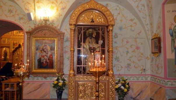 12.05.2017 г. в нашем монастыре был отслужен молебен покровителю Обители Святителю Николаю у чудотворного образа «Никола-проща»