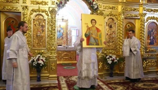 28.12.2017 года состоялось освящение Богоявленского храма монастыря