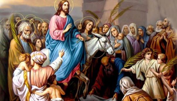 01 апреля 2018 г. «Осанна в вышних! Благословен Царь, грядущий во имя Господне!»
