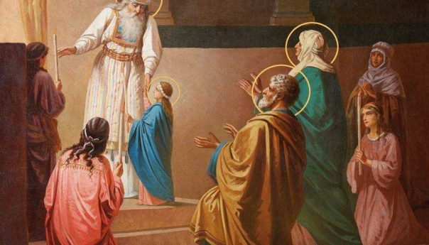 04 декабря 2018 г. Введение во храм Пресвятой Владычицы нашей Богородицы и Приснодевы Марии