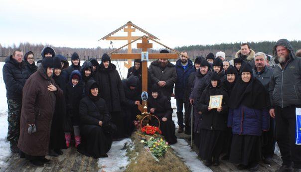 10 марта 2019г. В день памяти Матушки-схиигумении Георгии на её могиле была отслужена панихида.