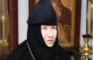 10 марта 2014  года почила о Господе наша матушка схиигумения Георгия.