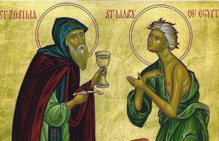 Стояние преподобной матери нашей Марии Египетской