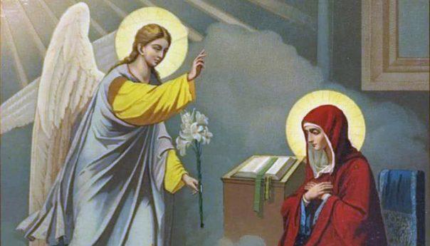 07.04.2019 Благовещение Пресвятой Богородицы