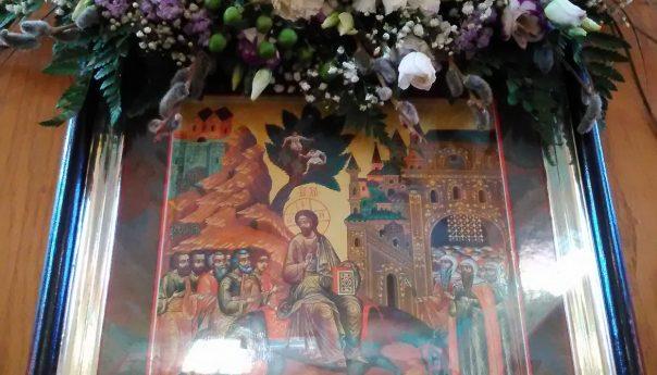 21.04.2019г. Вход Господень в Иерусалим