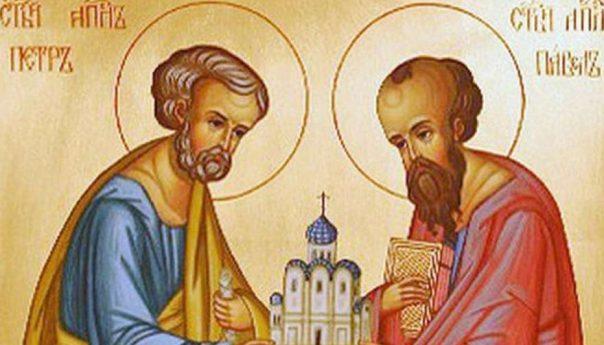 12 июля 2019 г. Славных и всехвальных первоверховных апостолов Петра и Павла.