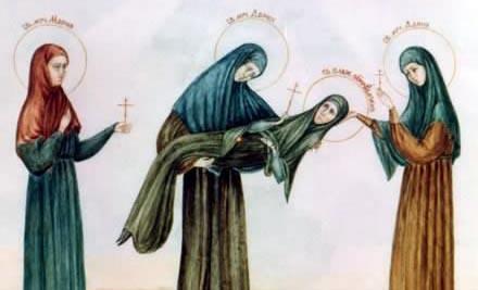 18 августа 2019 г. Память Святых Пузовских (Суворовских) мучениц Евдокии, Дарии, Дарии и Марии