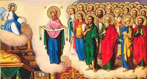 14 октября 2019 года. Празднование в обители Покрова Пресвятой Владычицы нашей Богородицы и Приснодевы Марии.