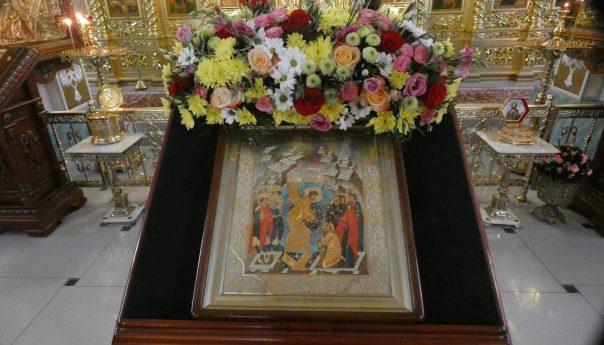 27 октября 2019 года епископ Филарет отслужил воскресную Божественную литургию в Арзамасском Николаевском женском монастыре