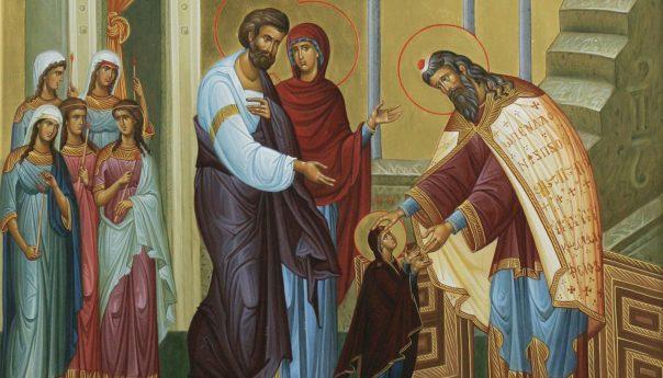4 декабря 2019 года Праздник Введения во храм Пресвятой Богородицы и Приснодевы Марии