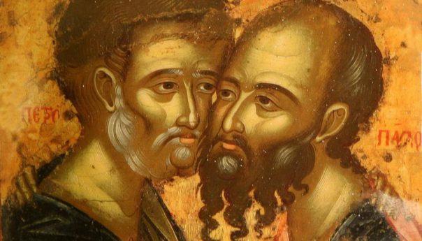 12 июля 2020г. Славных и всехвальных первоверховных апостолов Петра и Павла.
