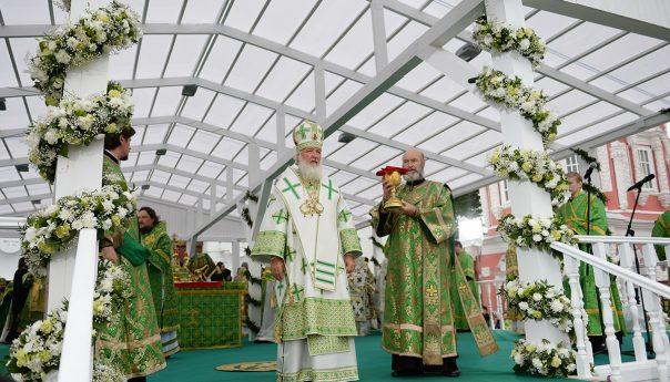 Проповедь Святейшего Патриарха Кирилла в день памяти преподобного Сергия Радонежского