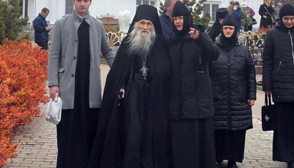 06.11.2020 г. Схиархимандрит Илий (Ноздрин) посетил Николаевский женский монастырь