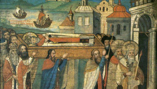 22 мая 2021 Перенесения мощей святителя и чудотворца Николая из Мир Ликийских в Бар (1087)