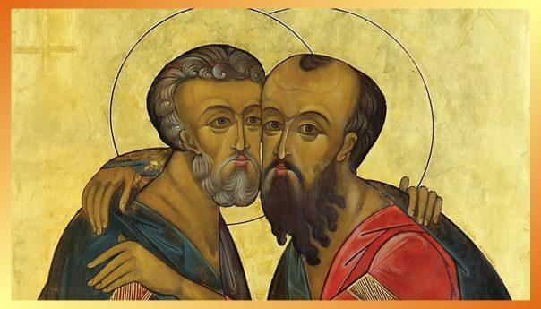 12 июля 2021г. Славных и всехвальных первоверховных апостолов Петра и Павла.