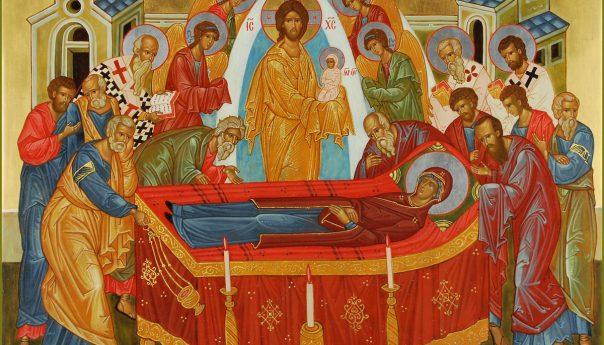28 августа 2021 г. Успение Пресвятой Владычицы нашей Богородицы и Приснодевы Марии